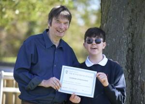 Ian Rankin/Royal Blind School prize